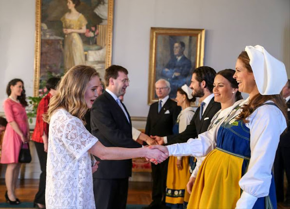 Crown Princess Victoria and Prince Daniel, Prince Carl Philip and Sofia Hellqvist, Princess Madeleine
