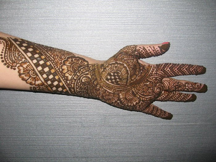 Mehndi Designs For Hands Images Pdf : Mehndi design new bridal full hand