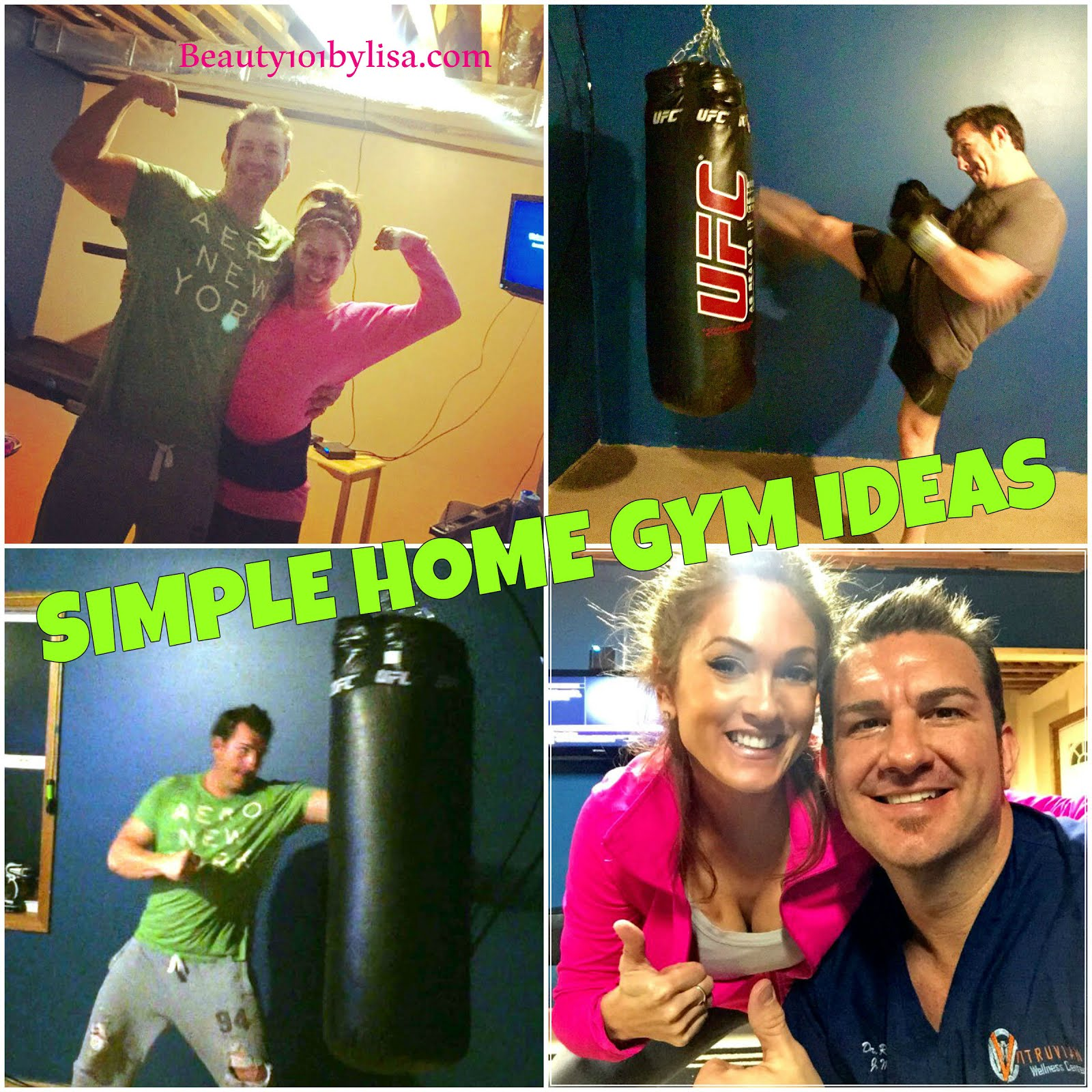 Beauty bylisa simple home gym ideas