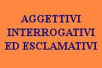 10 FRASI CON AGGETIVI INTERROGATIVI ED ESCLAMATIVI