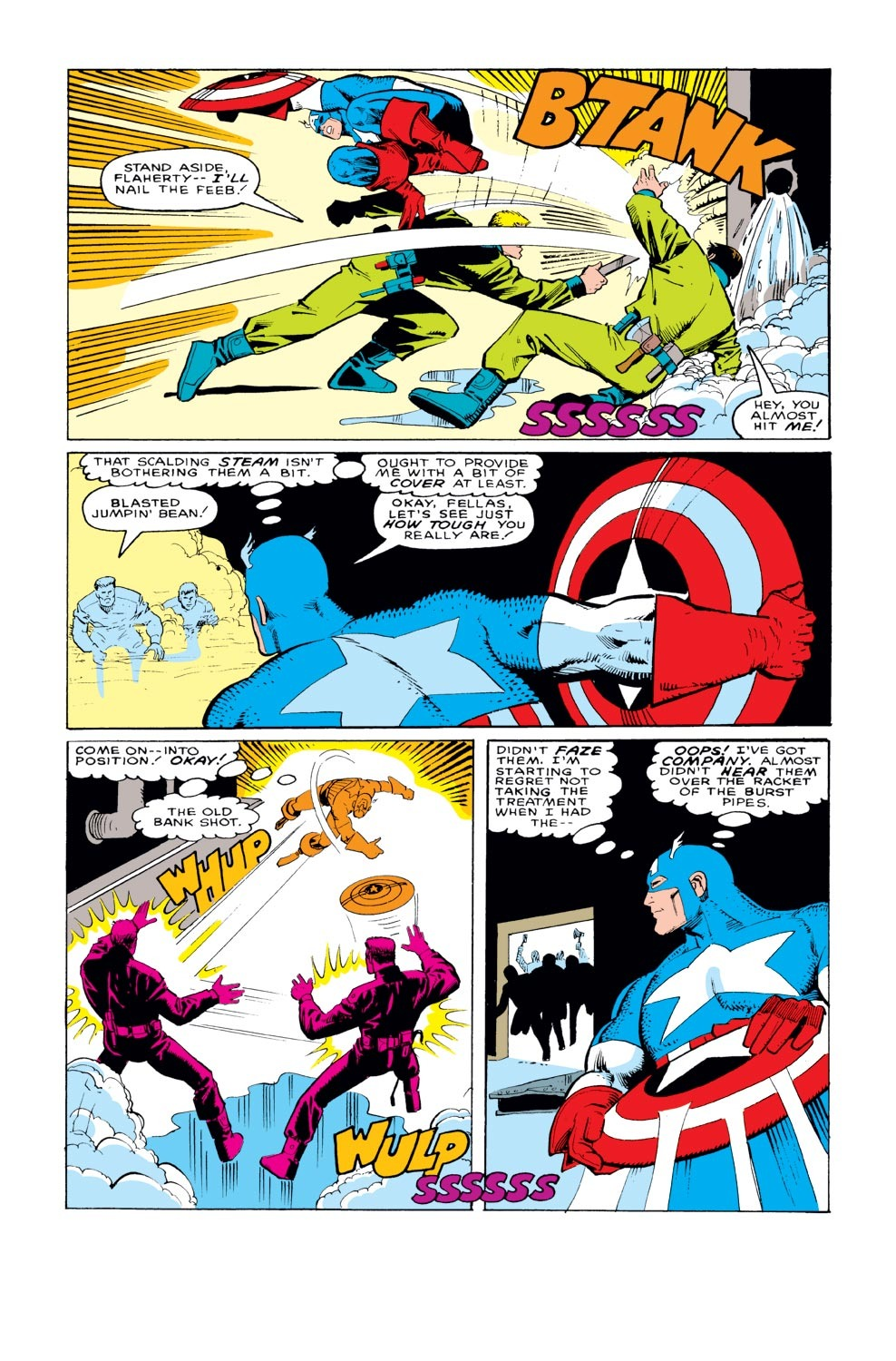 Captain America (1968) Issue #329 #258 - English 8