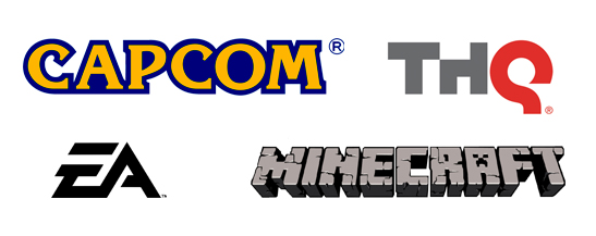 Capcom,EA, THQ, Minecraft all love us