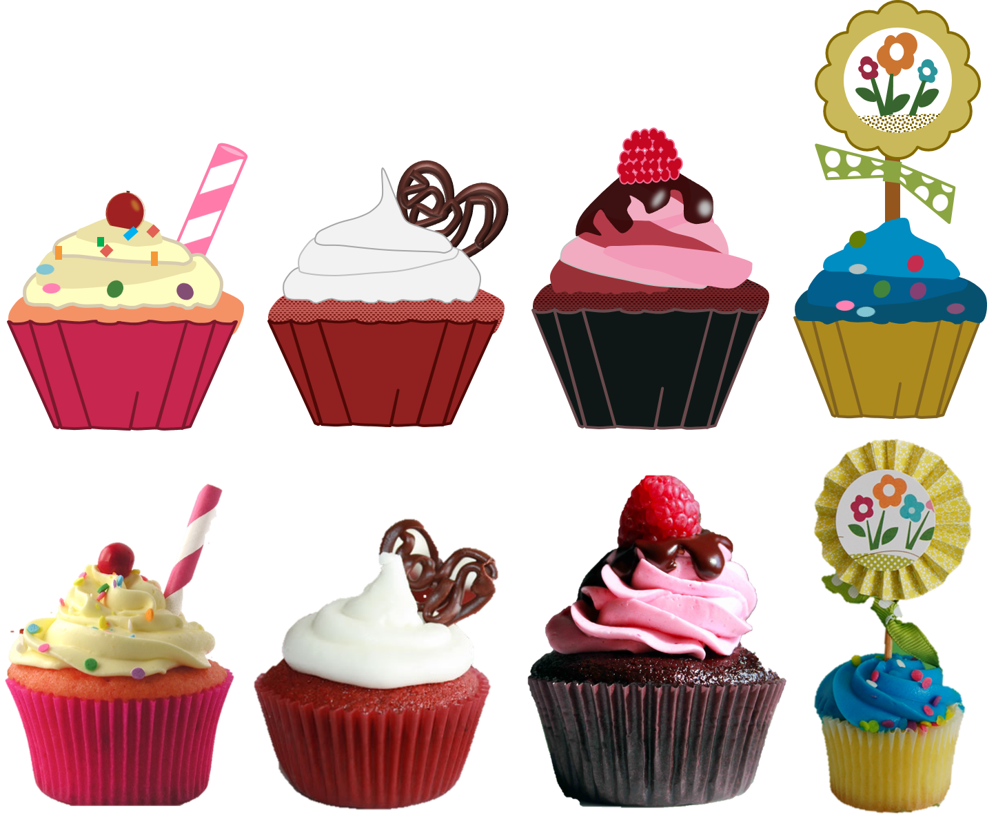 Cupcake Cakes For Moms