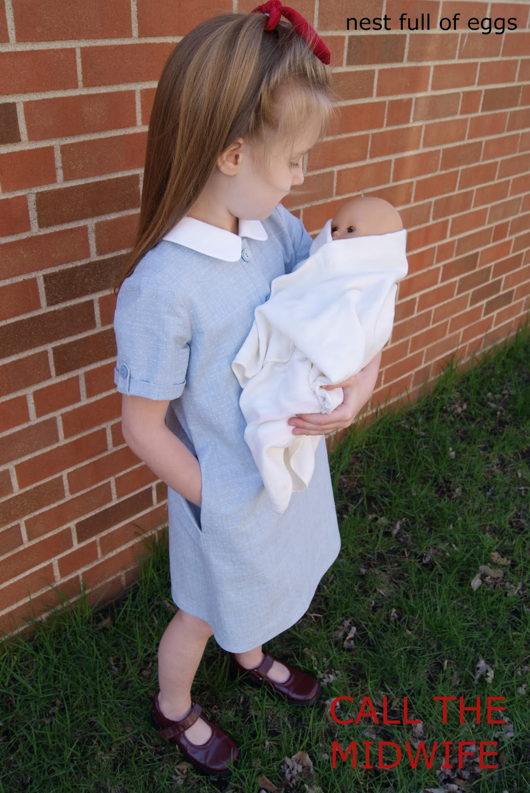 Call the Midwife by nest full of eggs