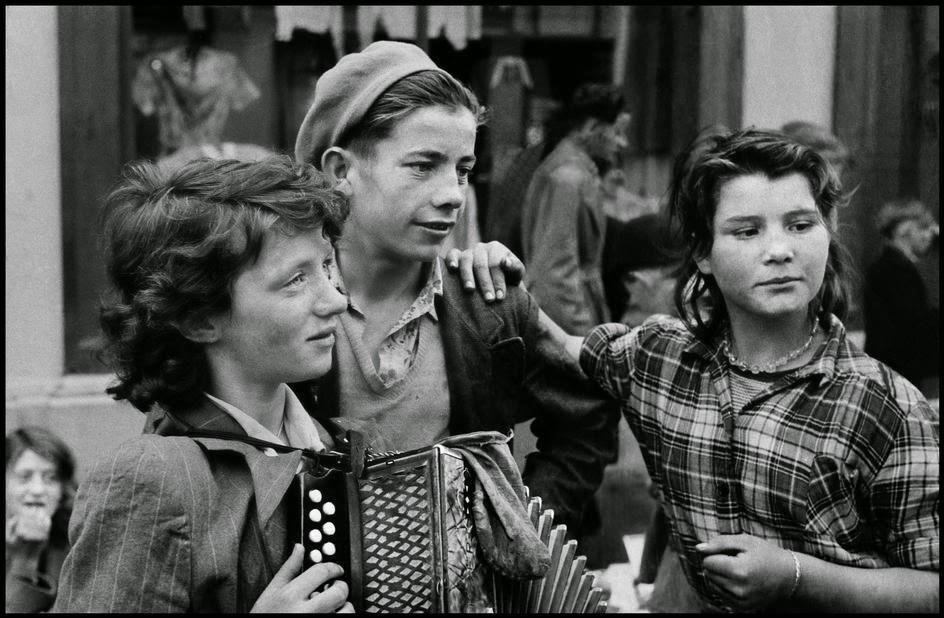 Ирландская молодежь.