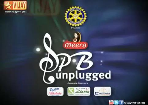 SPB Unplugged – Vijay Tv Full Program Show – 08-09-2013