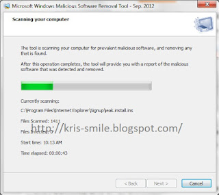 Windows Malicious Software Removal Tool (mrt.exe) 1