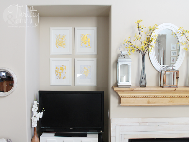 how to incorporate children's art into home decor