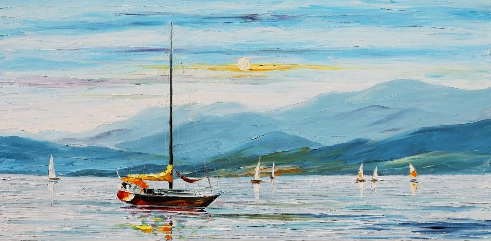 Cuadros modernos pinturas y dibujos 01 15 14 for Cuadros de marinas