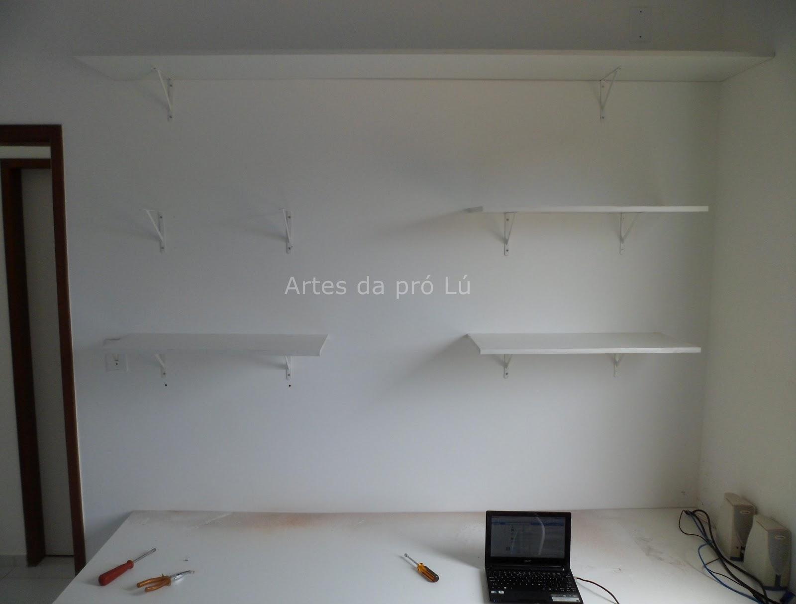Artes da Pró Lú: Faça você mesma as prateleiras para sua casa. #5B4D40 1600x1214
