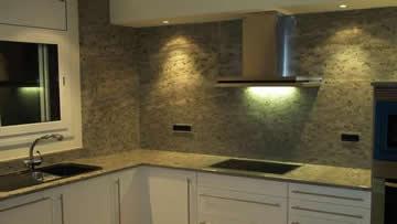 Granito trabajo piedras naturales for Granito color verde