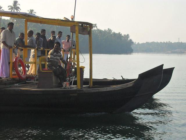 мини-паром в Индии, Керала
