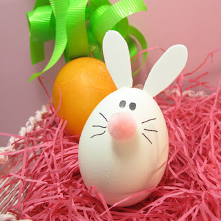 Easter eggs decorated and Easter bunny drawing on the egg picture download free images of Christ and photos of Mother Mary