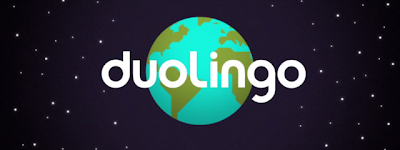 Pantalla de introducción de Duolingo