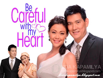 Jodi Sta. Maria and Papa Chen Richard Yap of Be Careful With My Heart, Prime-Tanghali Queen and King