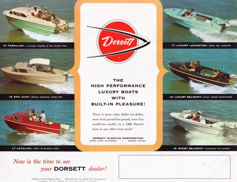 Dorsett Boats History Line Became Dorsett Boats
