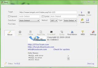 Download Havij 1.17 free full version cracked