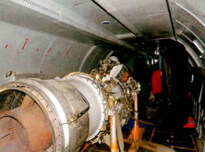 Грузовая кабина самолета Ан-26Б