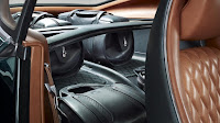 Next Bentley EXP10 6Speed Edition interior back bag view