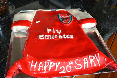 Arsenal Football Cake Images