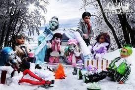 Monster High en invierno