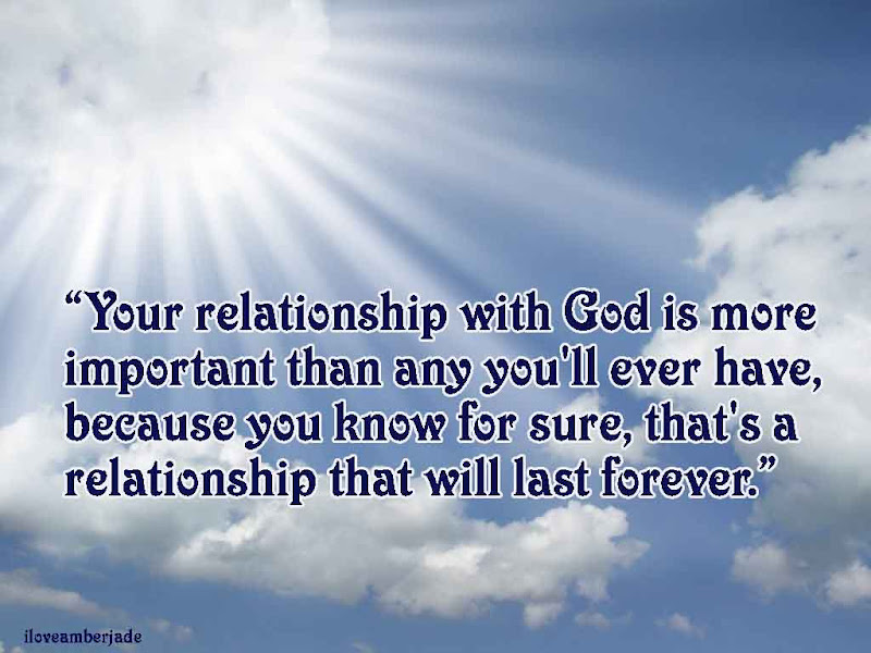 Relationship with god quizzes