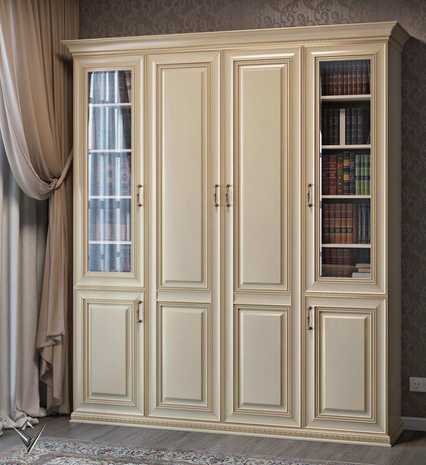 Шкаф в гостиную барселона - купить шкафы - деревянная мебель.