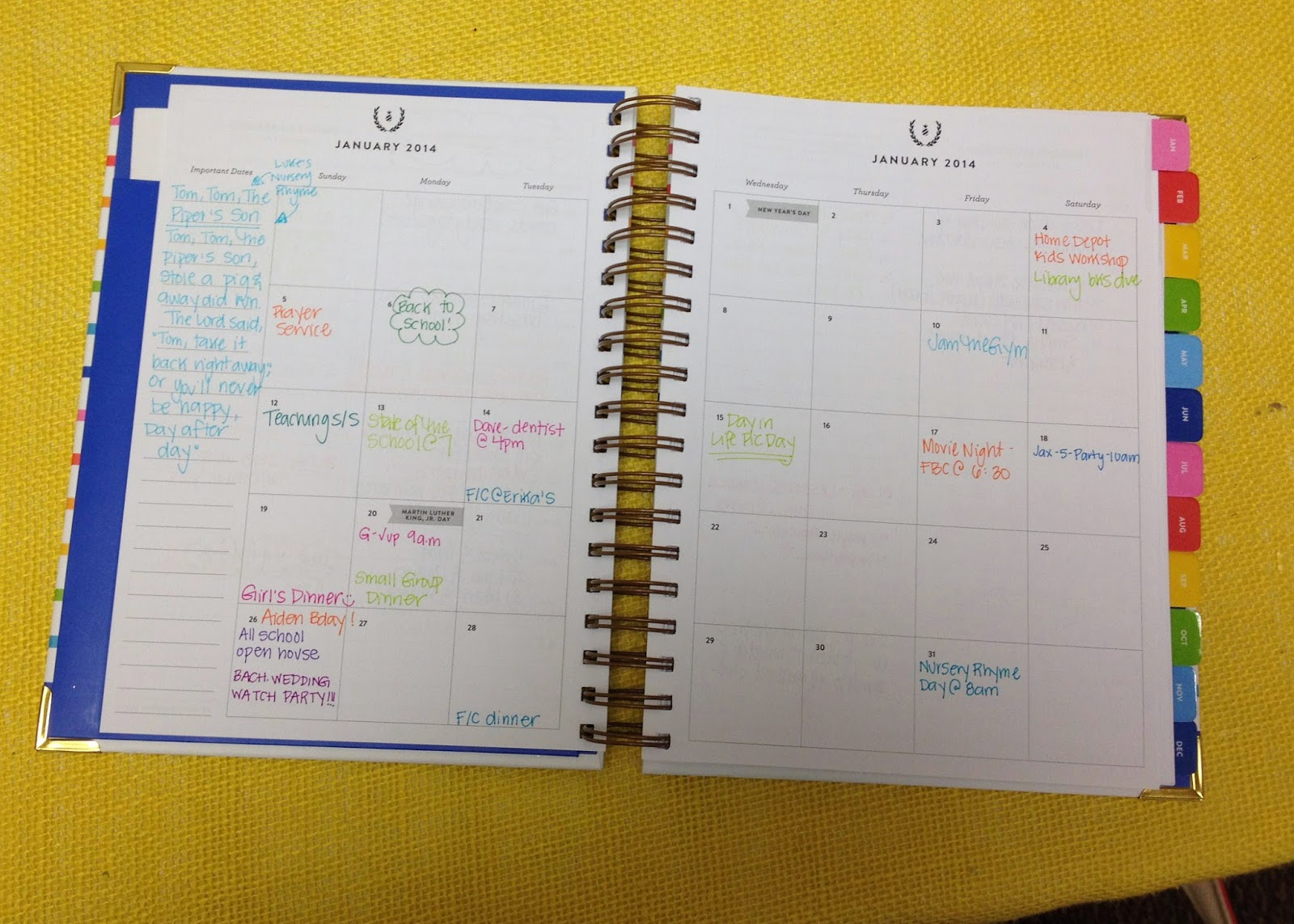 Momfessionals  Simplified Planner