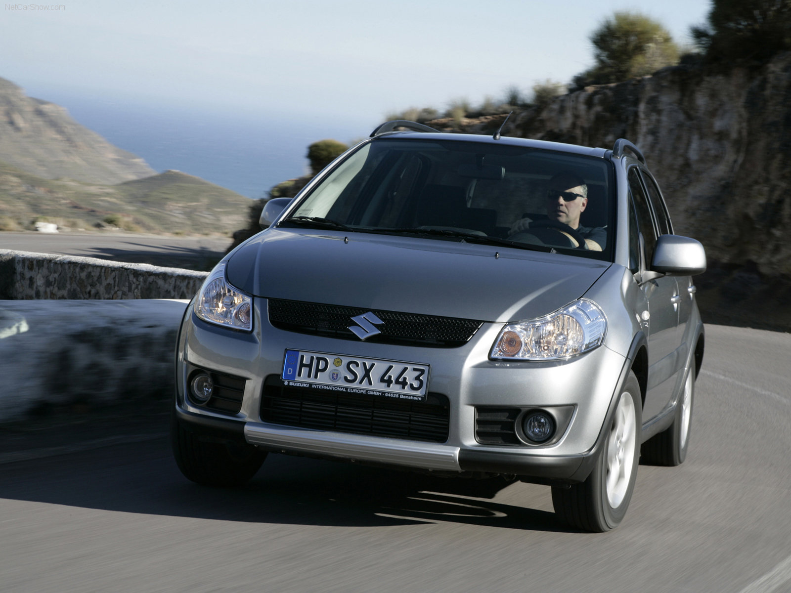 Hình ảnh xe ô tô Suzuki SX4 2007 & nội ngoại thất