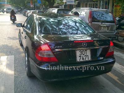 Cho thuê xe Mercedes E280 VIP tại Hà Nội