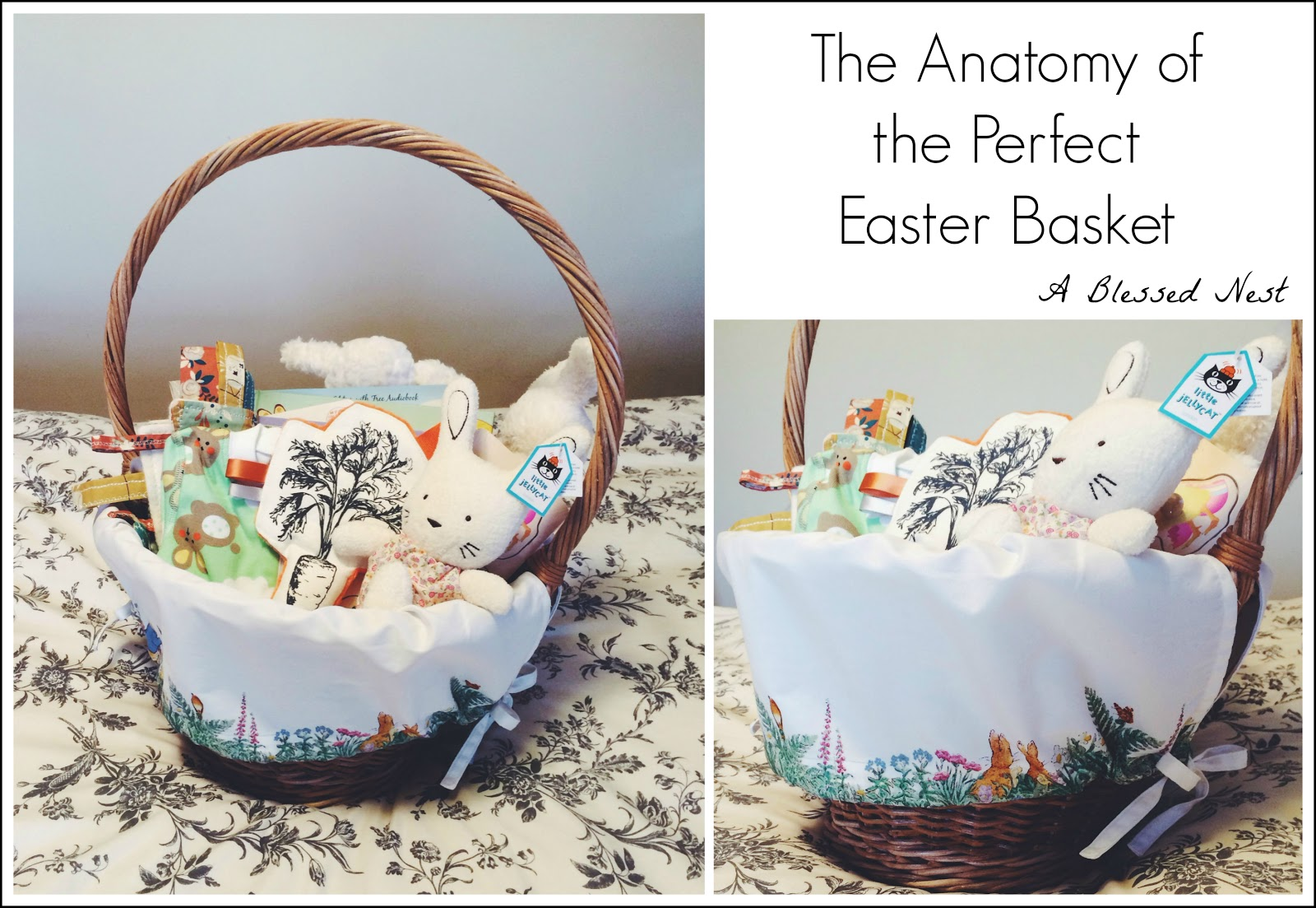 A blessed nest the easter basket i thought it would be fun to share a list of what is going in vs easter basket this year incase you are still looking for treats to fill your little ones negle Gallery