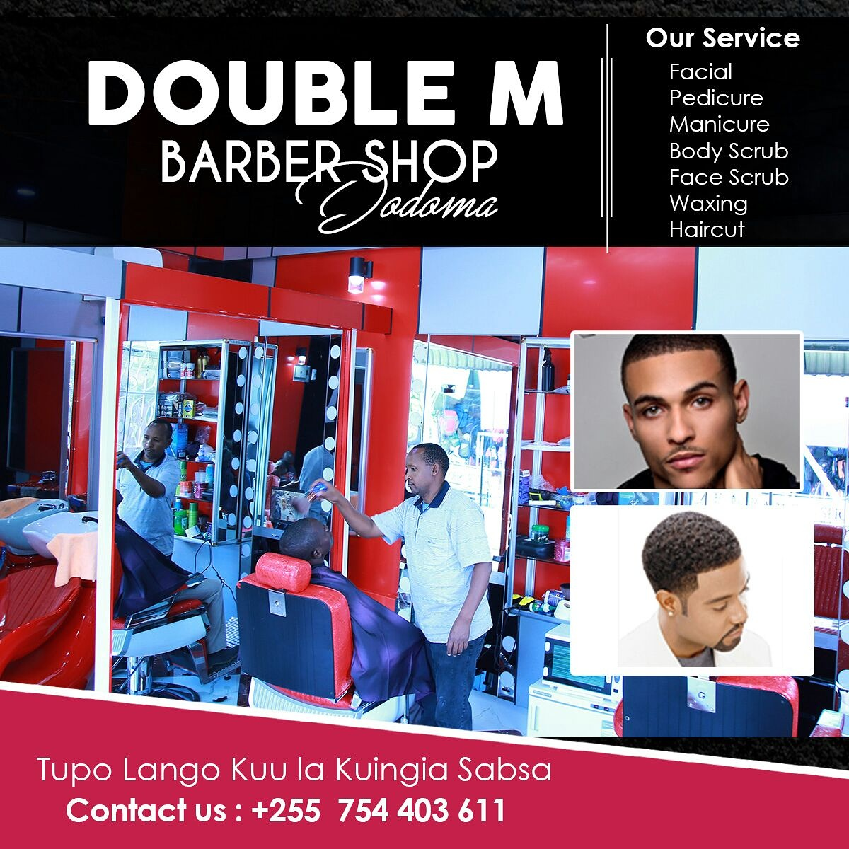 DOUBLE M BARBER SHOP