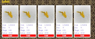 powergold, harga emas semasa, LOKET