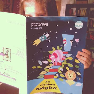escalera mágica ilustración diseño esposa embajador extremadura badajoz