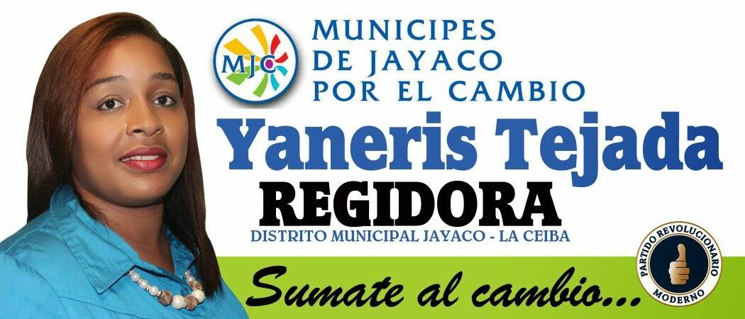 YANERIS TEJADA REGIDORA