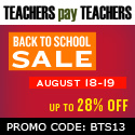 TpT Sale Back to School | search for: Mrs Doring