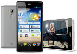 ราคามือถือ Acer Liquid Z5 Android 4.2.2 (Jelly Bean) Dual Core 1.3 GHz