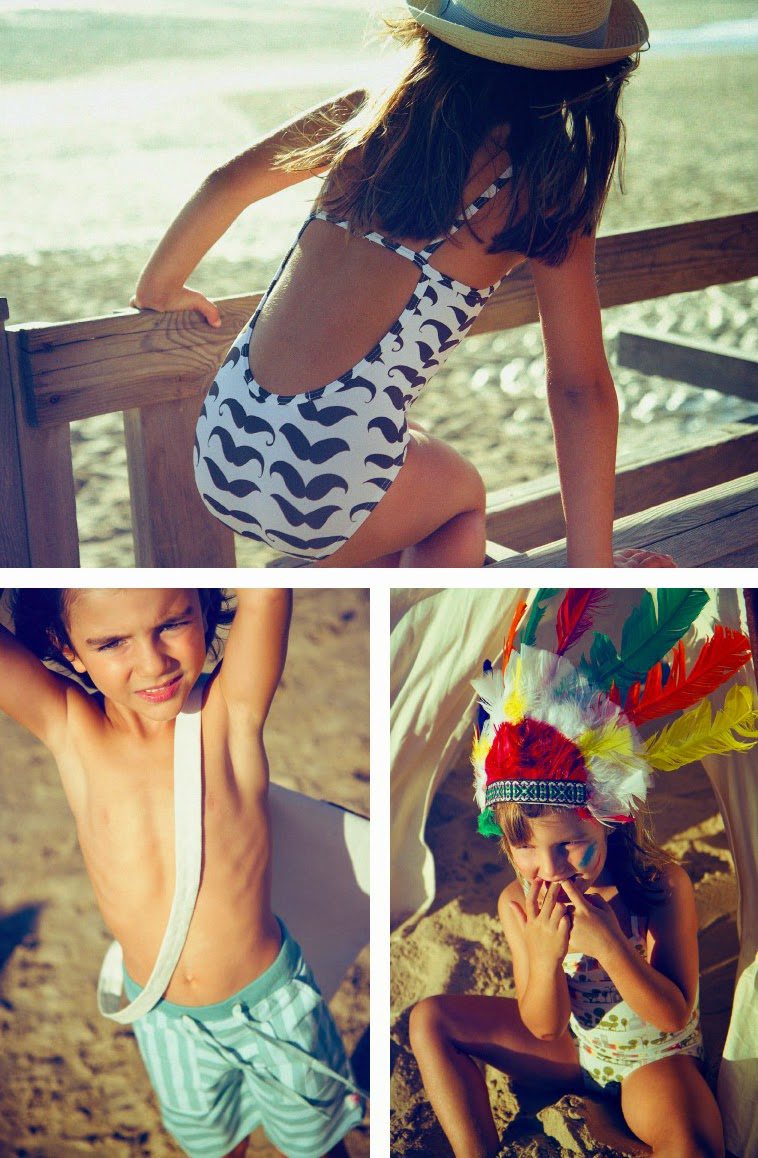 Coolest kids' swimwear for summer 2015! - Spanish brand Dosydos