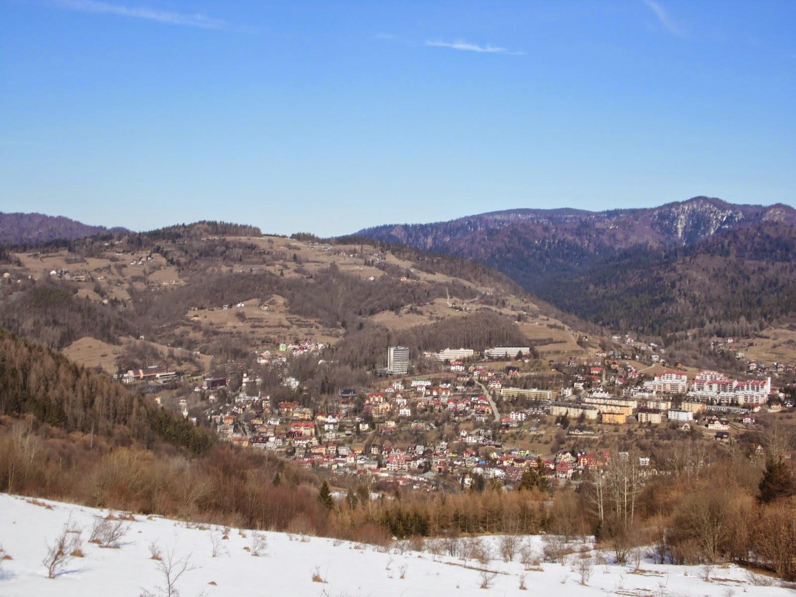 Widok na Szczawnicę