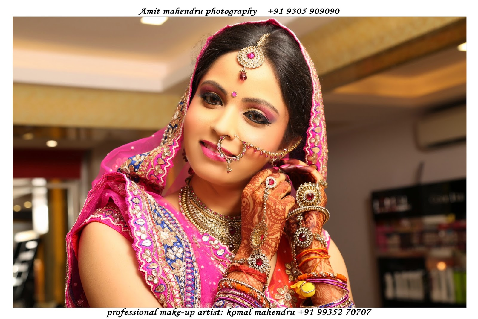 Komal mahendru s professional makeup lucknow india bridal makeup - Bridal Makeup Artist In Lucknow