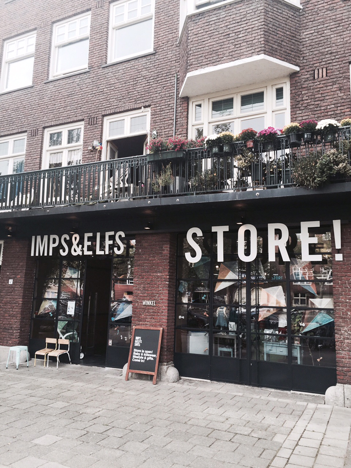 IMPS&ELFS store  in Amsterdam