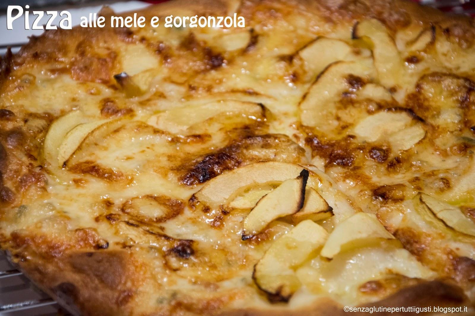 Senza Glutine Per Tutti I Gusti!: Pizza Senza Glutine Al Gorgonzola  #794111 1600 1066 Cucina Mediterranea Senza Glutine Pdf