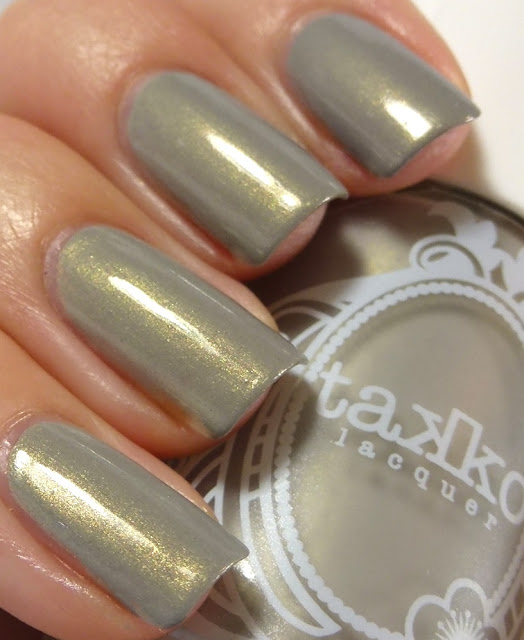 The Electric Apple: NYC, Takko Lacquer, swatch