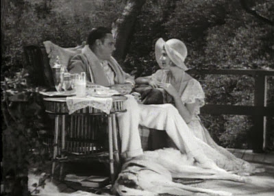 Colin Clive and Mae Clarke in Frankenstein (1931)