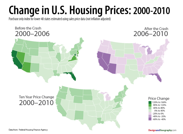 Design and Geography: Housing Price Index for the United States, 2000-2010