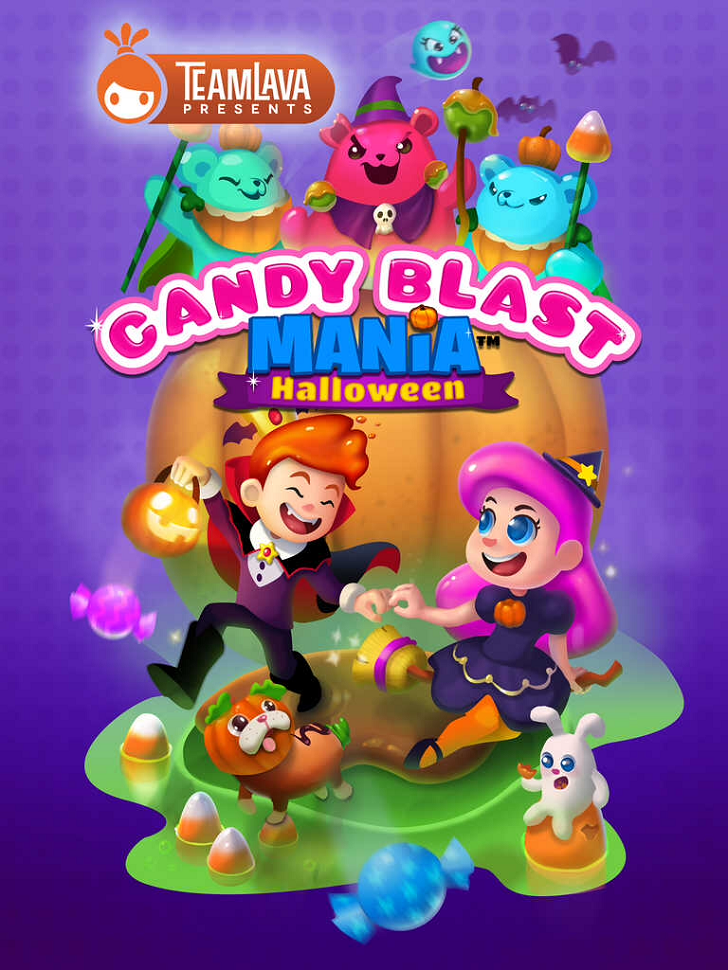Candy Blast Mania: Halloween Free App Game By TeamLava