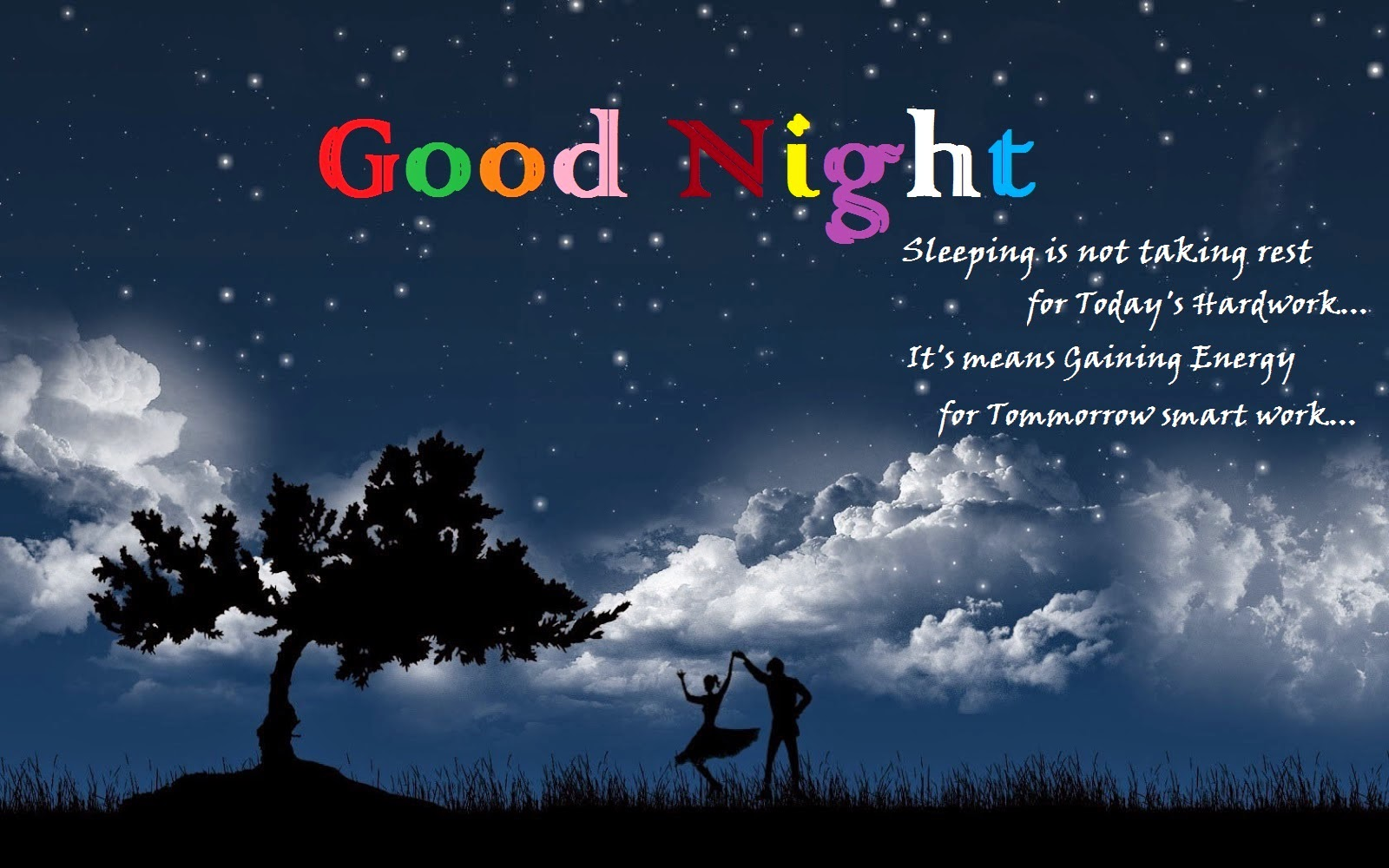 Wallpaper download good night - Good Night Wallpaper With Love Quote
