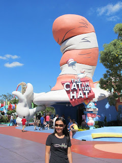 Universal Islands of Adventure Cat in the Hat