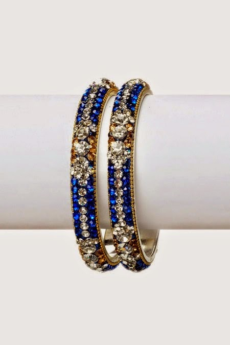 Crystal Designer Bangles for Womens
