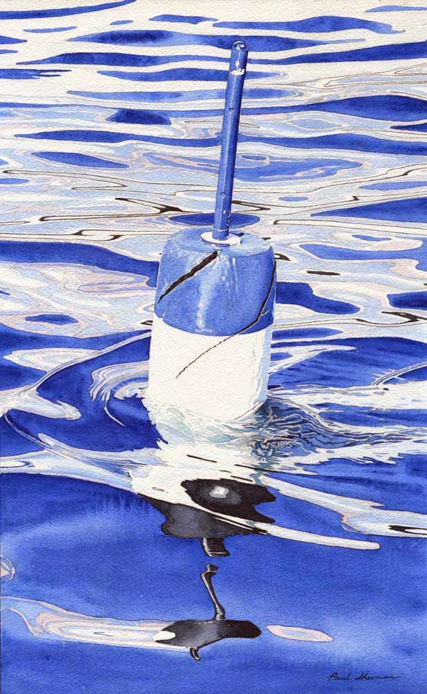 """Blue Buoy"" by Paul Sherman - SOLD"